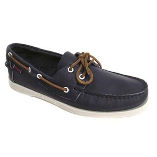Sebago Men's Docksides Dark Purple Boat Shoe