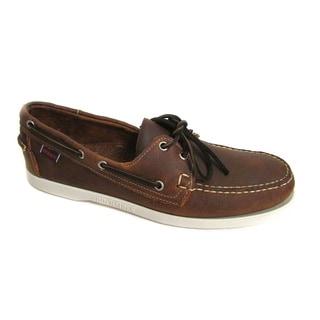 Sebago Men's Docksides Wheat/ Gold Boat Shoes
