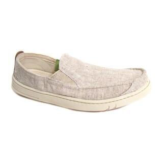 Timberland Men's EK Hookset Slip On Natural Shoe