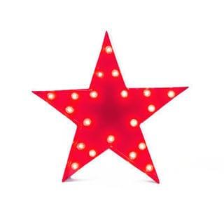 Indoor/Outdoor 2-foot Red Star Marquee Light