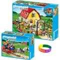 Playmobil Hotel Large Furnished Hotel/ Luxury Hotel Suite with Dimple Bracelet
