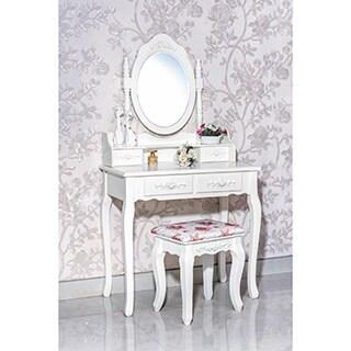 4-Drawer Vanity Table
