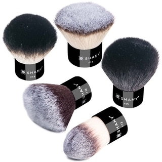 SHANY PRO Kabuki Essential 5-piece X-Large Synthetic/ Natural Hair Kabuki Brush Set