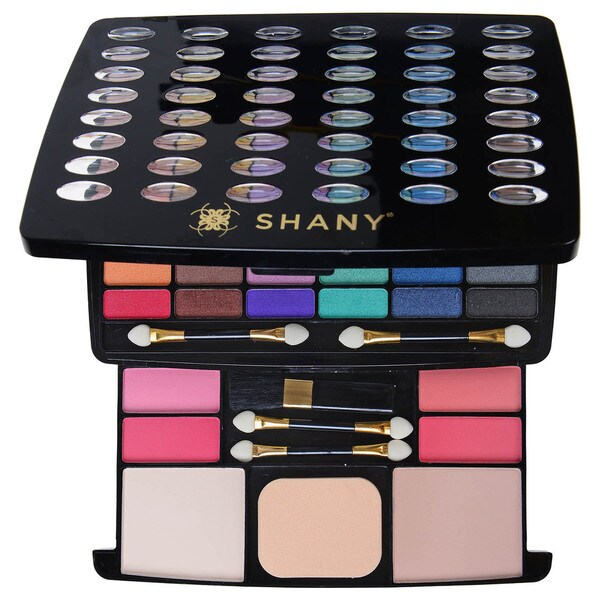 SHANY Glamour Girl Vintage Eyeshadow/Blush/Powder Makeup Kit 16742712