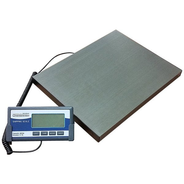 Escali bathroom scale - Digiweigh Dw64 400lb Stainless Steel Digital Shipping