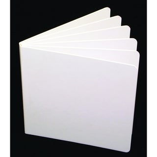 White Hardcover Blank Book 11-inch x 8.5