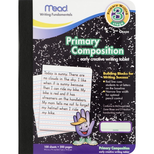Primary Composition Book Full Page Ruled 100 ct.