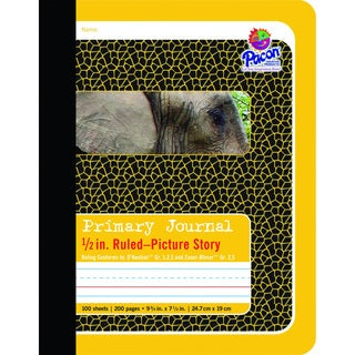 Pacon Composition Book/Journal.5 inch Ruled Picture Story 100 shts