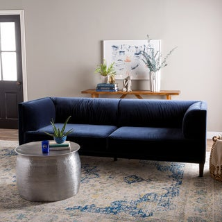 Nimbus Velvet Navy Sofa
