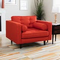 Metropolitan Orange Lido Fabric Chair
