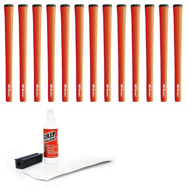 Iomic Sticky 2.3 Orange 13-piece Golf Grip Kit (with Tape/ Solvent/ Vise Clamp)