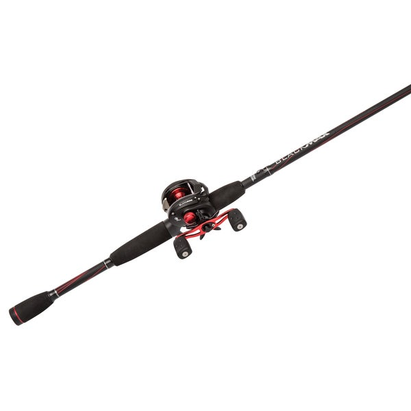 Abu Garcia Black Max Combo LP 6.4:1 Gear Ratio 15 lb Max 6'6-inch 1-piece Rod Medium Right Hand 16743100