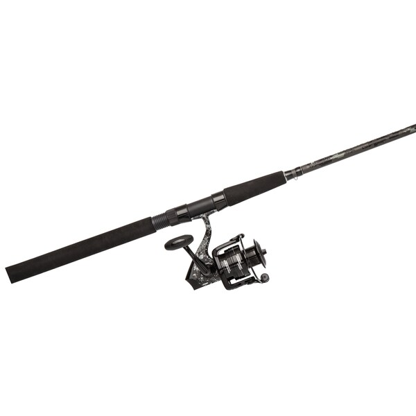 Abu Garcia Catfish Commando Spin Combo 60 4.8:1 Gear Ratio 7' 1-piece Rod Ambidextrous 16743115