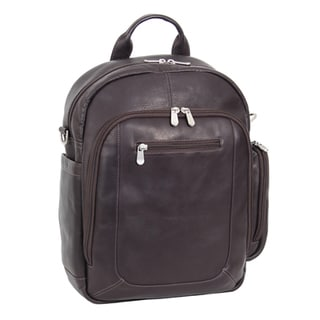 Piel Leather Laptop Backpack/Shoulder Bag