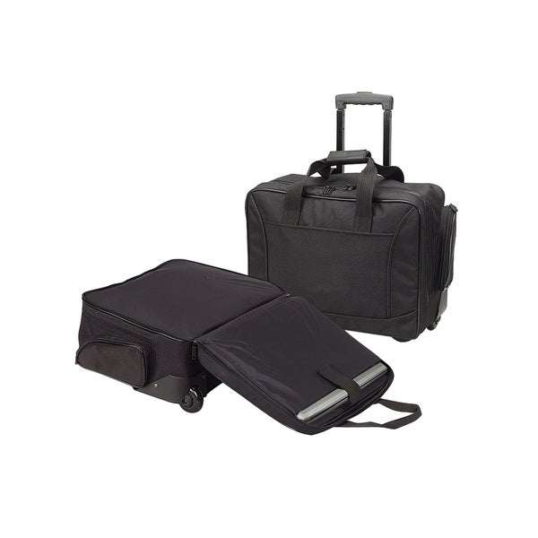 Goodhope Check-point Friendly Rolling Laptop Briefcase