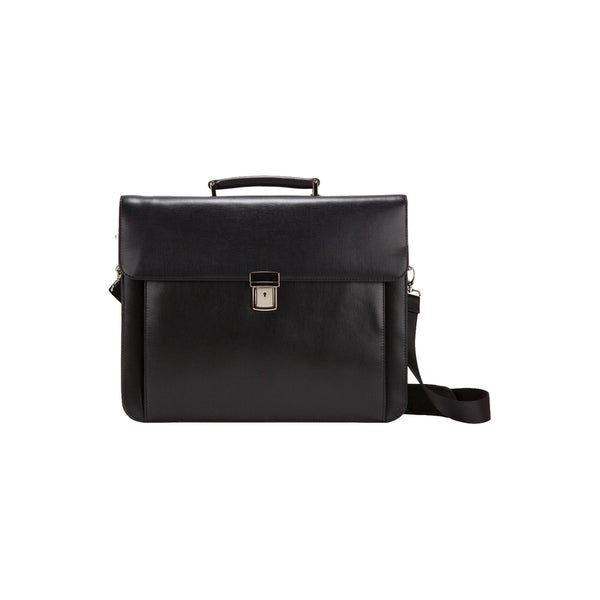 THE FRAKFURT LAWYER COMPU / TABLET BRIEF BELLINO LEATHER FLAPOVER CASE