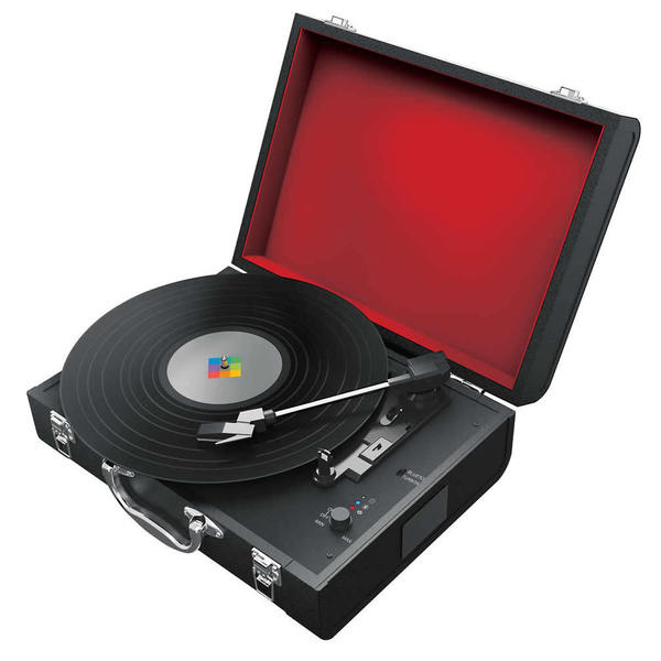 Polaroid Wireless Turntable with Bluetooth