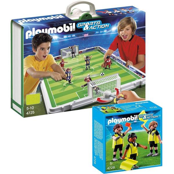 Playmobil Soccer Playmobil Take Along Soccer Match/ Referees