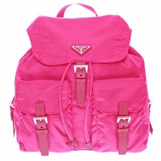 Prada Nylon Pocket Backpack