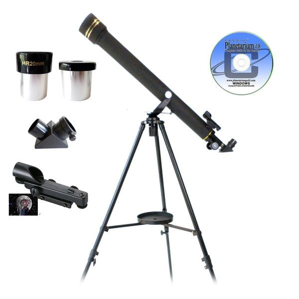 Galileo Black Granite Refractor Telescope G-860BG 16744555