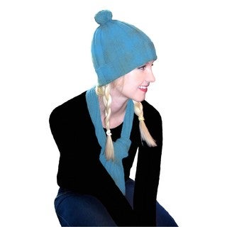 Dolores Piscotta Women's Cashmere Scarf and Hat Set