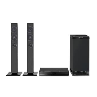 Reconditioned Panasonic 2.1 Channel Home Theater System with 2 Tower Speakers Bluetooth and Wireless Subwoofer-SCHTB351