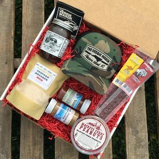 Veggie Wagon 'Gone Fishing' Gift Basket