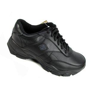 Dickies Men's Quilted Slip Resistant Black Oxford