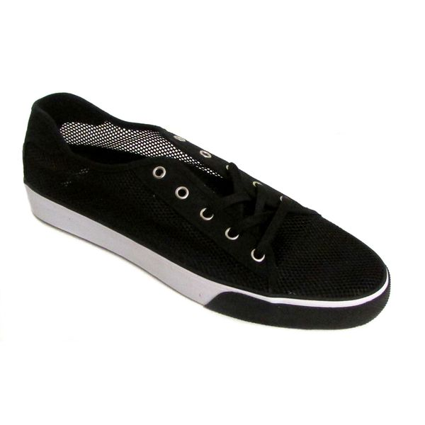Creative Recreation Men's Kaplan V Black Mesh Sneakers