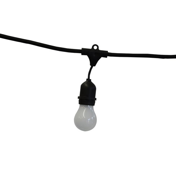48-foot Vintage Metro Frosted Bulb Light Strand