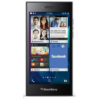 BlackBerry Leap STR100-2 16GB Unlocked GSM 4G LTE Cell Phone - Shadow Grey (Refurbished)