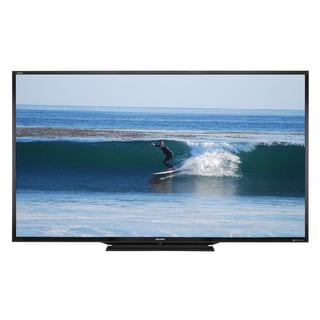 Reconditioned Sharp 90-inch Aquos HD 1080p 120Hz 3D Smart LED TV with WIFI-LC-90LE657U