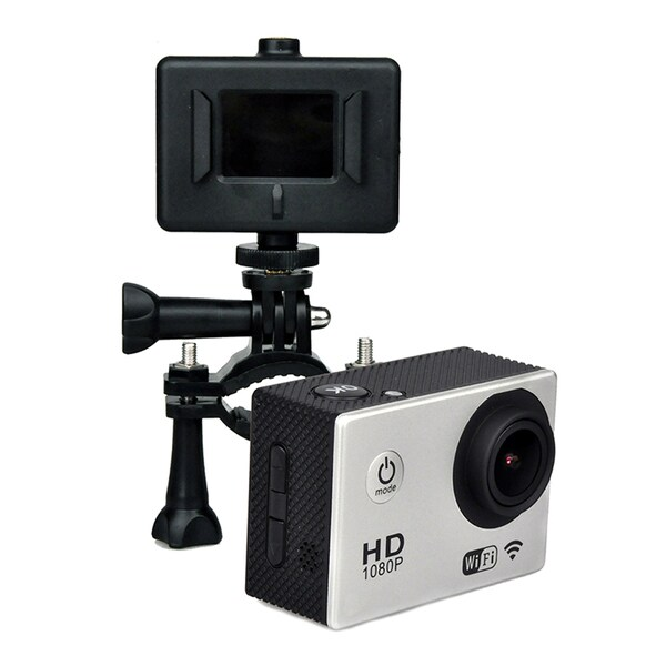 4K WATERPROOF/SHOCKPROOF SPORTS ACTION CAMERA with WIFI- X8SW4K