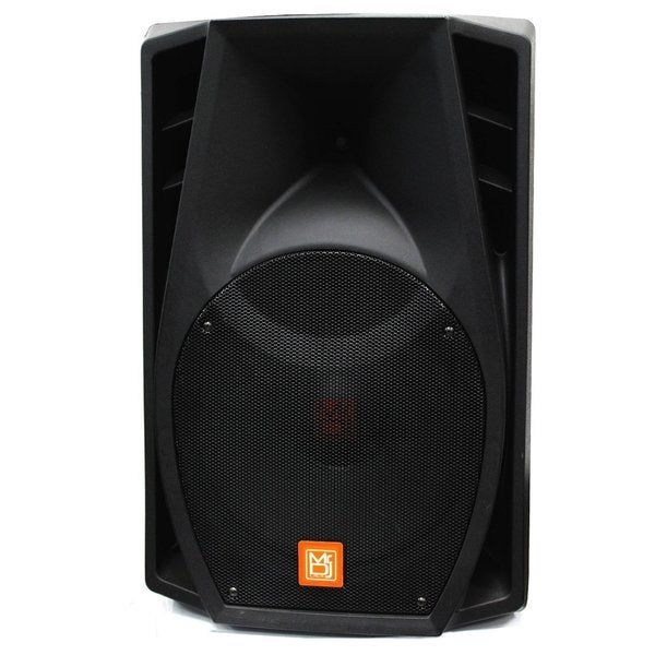 Absolute PM2880BAT 15-inch 3500W Bluetooth Battery Radio Speaker + Microphone/ Remote with FM Radio/EQ/LCD/MP3/USB/SD