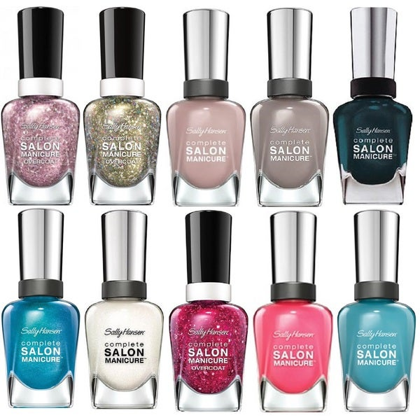 Sally Hansen Complete 10-Piece Salon Manicure Nail Polish Set