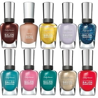 Sally Hansen Salon Manicure Fun 10-piece Nail Polish Set