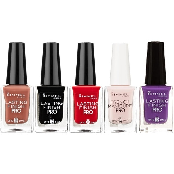 Rimmel London Lasting Finish Pro 5-PIece Nail Polish Set