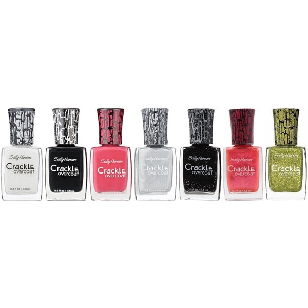 Sally Hansen Crackle 7-Piece Nail Polish Set