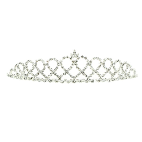 Kate Marie 'Cilla' Rhinestone Crown Tiara Headband