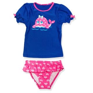 Jump'N Splash Small Girls Whale Guard Set