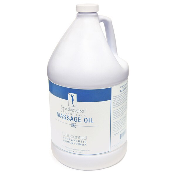 Master Massage 1-Gallon Unscented Vitamin-Rich Massage Oil