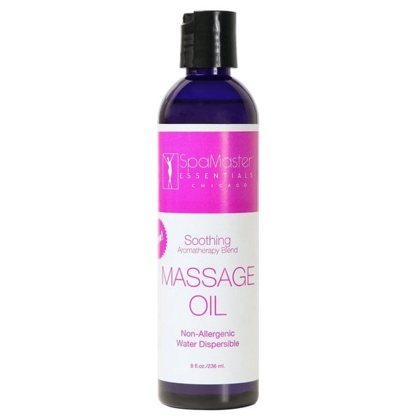 Master Massage 8-ounce Soothing Aromatherapy Massage Oil
