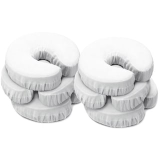 Master Massage 100-percent Cotton Flannel Face Pillow Covers (Pack of 6)