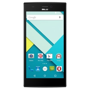 BLU Life One XL 8GB Unlocked GSM 4G LTE 13MP Quad-Core Android Cell Phone - Black (Refurbished)