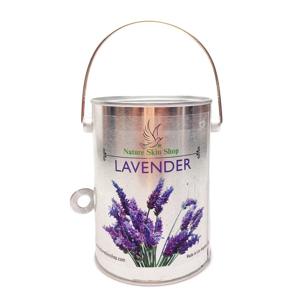 Lavender Scent Soy Tin Can Candle