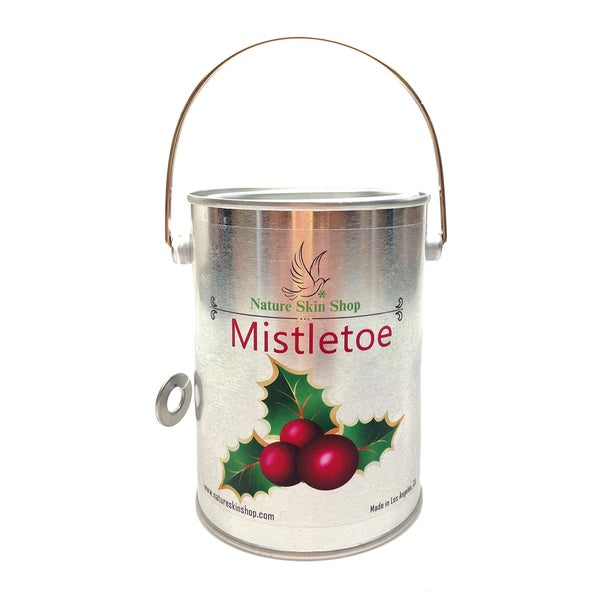 Mistletoe Soy Tin Can Candle
