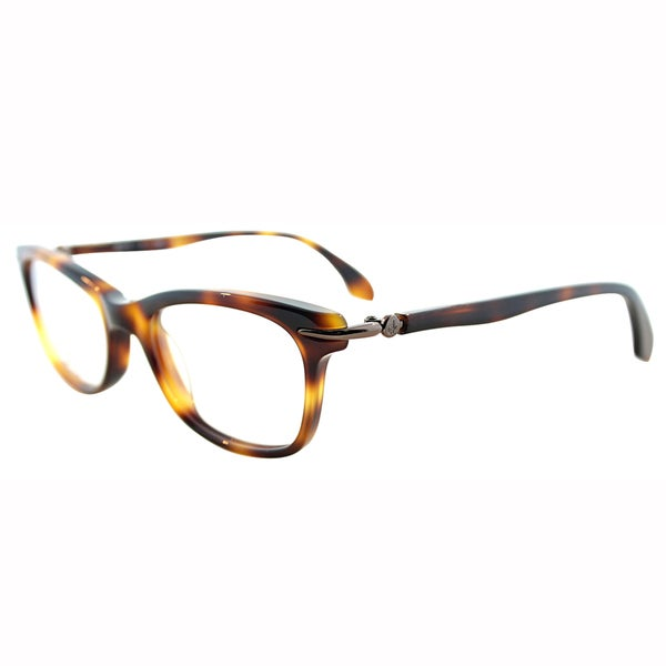 Calvin Klein Womens CK 5731 210 Soft Tortoise Rectangle Plastic Eyeglasses-46mm