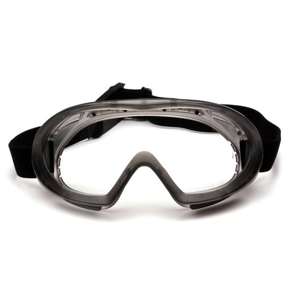 Pyramex Capstone Shield Clear AF Lens Goggle with Clear Shield
