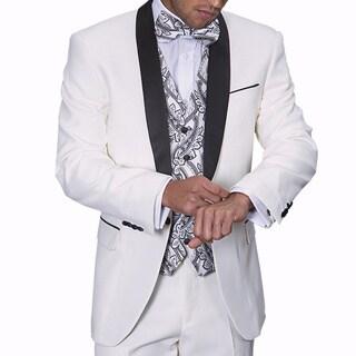 Statement Men's Capri White Tuxedo Suit