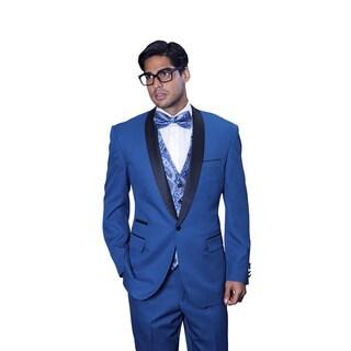 Statement Men's Capri Indigo Tuxedo Suit